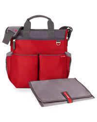 Skip Hop: Duo Signature Nappy Bag Red