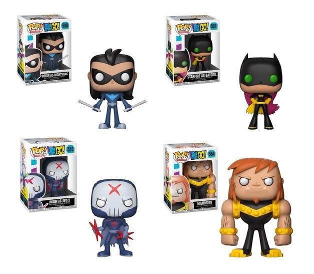 Teen Titans Go: S2 - Pop! Vinyl Bundle