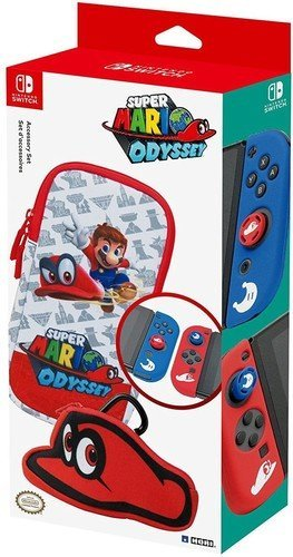 Nintendo Switch Officially Licensed Super Mario Odyssey Accessory Set for Switch