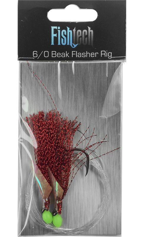 Fishtech 6/0 Beak Economy Flasher Rig