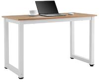 Ovela: Glasgow Study Desk (Walnut/White)