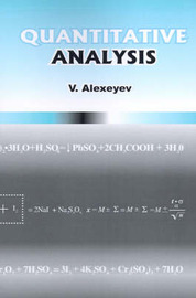 Quantitative Analysis by Vladimir Alexeyev
