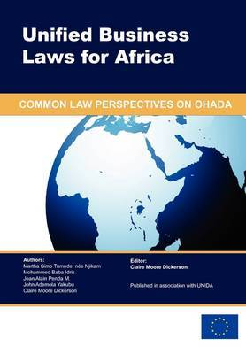 Unified Business Laws for Africa by Martha Simo Tumnde image