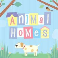 Animal Homes by Little Bee Books