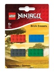 LEGO Ninjago: Mini-Erasers Set - 4-Pack