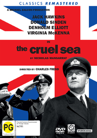 The Cruel Sea on DVD