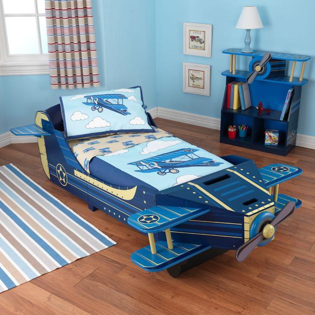 KidKraft - Airplane Toddler Bed