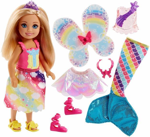 Barbie: Dreamtopia - Rainbow Cove Chelsea Doll (Blond)