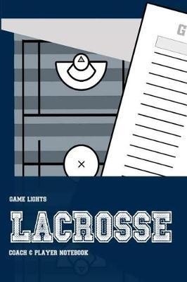 Game Lights Lacrosse by A Rainey