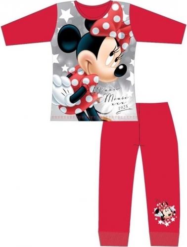 Disney: Minnie Mouse Girls Pyjama Set - Red/9-10