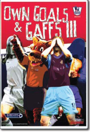 Premier League Goals and Gaffs 3: Hits & Misses on DVD