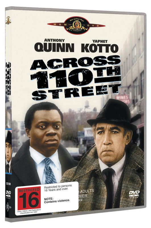 Across 110th Street on DVD