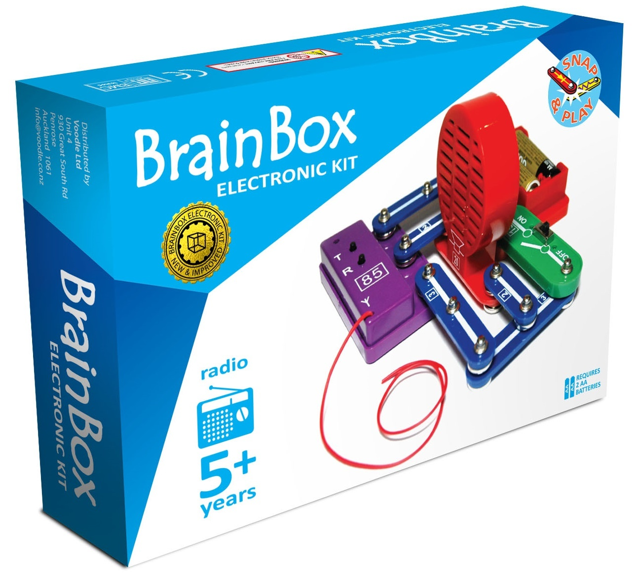 Brain Box: FM Radio Experiment Kit image