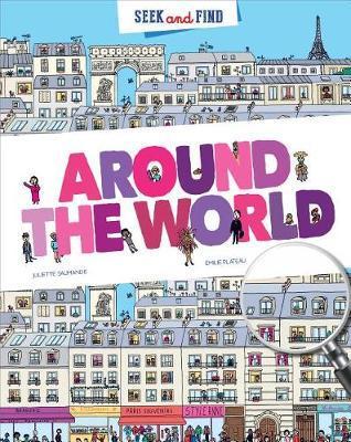 Seek & Find - Around the World by Juliette Saumande