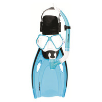 Mirage: F51 Nomad - Adult Mask, Snorkel & Fin Set - Large (Blue)