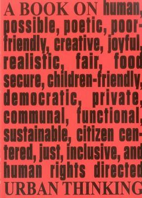Architecture & Human Rights: A Book on Urban Thinking by Tiziana Panizza Kassahun image