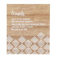 Splosh Havana Verse Plaque - Friends