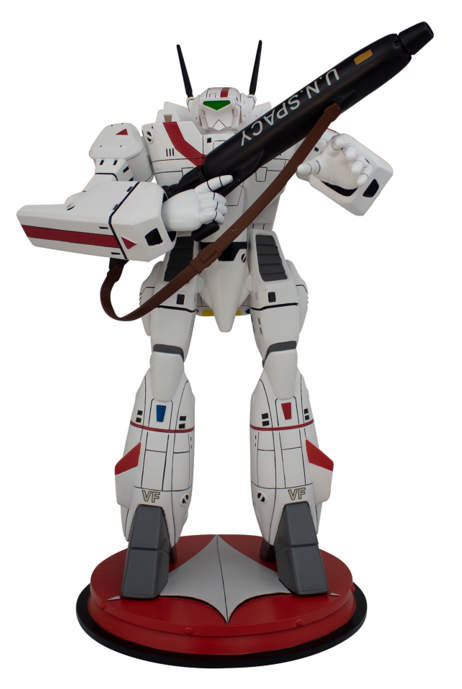 Robotech:VF-1J Rick Hunter Battloid - 1:42 Scale Statue