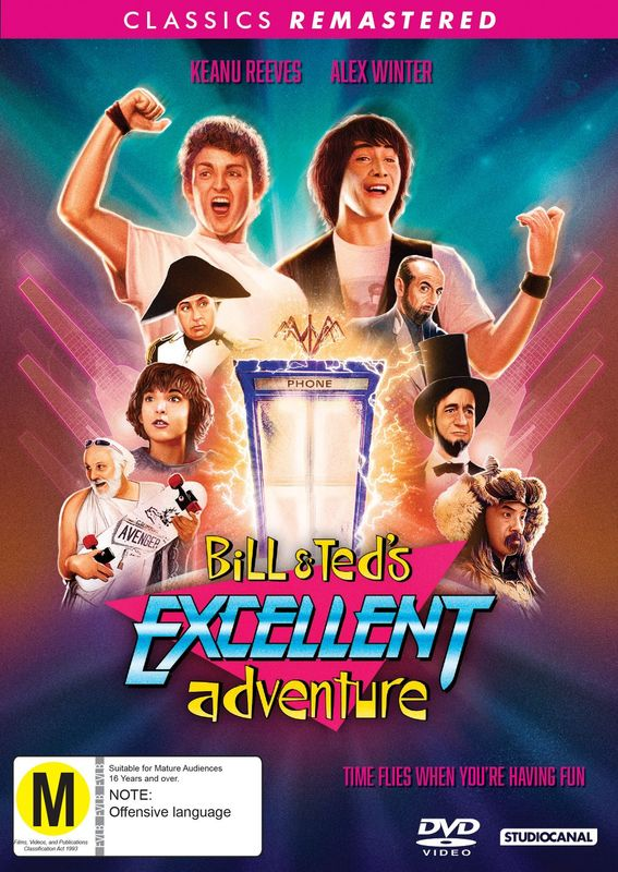 Bill & Ted's Excellent Adventure on DVD