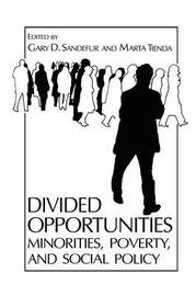Divided Opportunities: Minorities, Poverty and Social Policy by Gary D Sandefur
