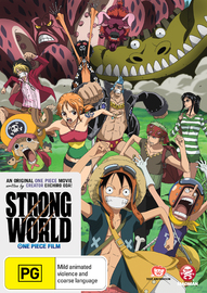 One Piece Movie: Strong World on DVD