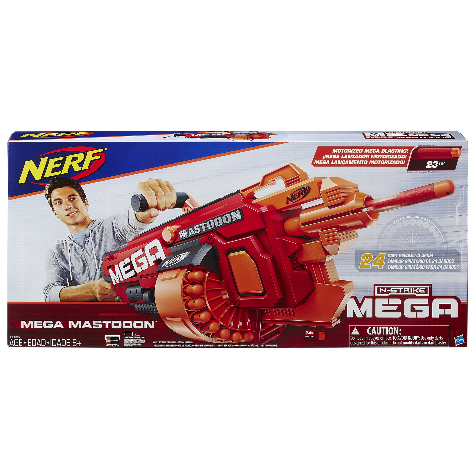 Nerf N-Strike Mega Mastodon image