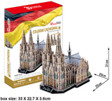 3D Puzzle Large - Cologne Cathedral