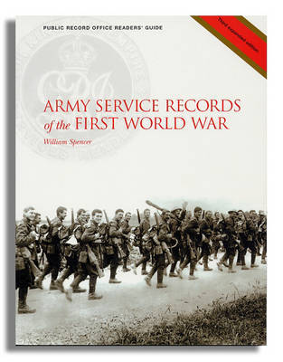 Army Service Records of the First World War by Simon Fowler