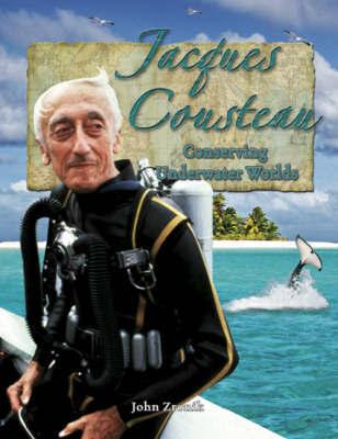 Jacques Cousteau by John Zronik