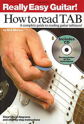 Really Easy Guitar] How To Read TAB by Nick Minnion image