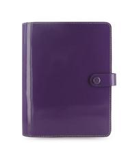 Filofax: The Original A5 Organiser - Patent Purple