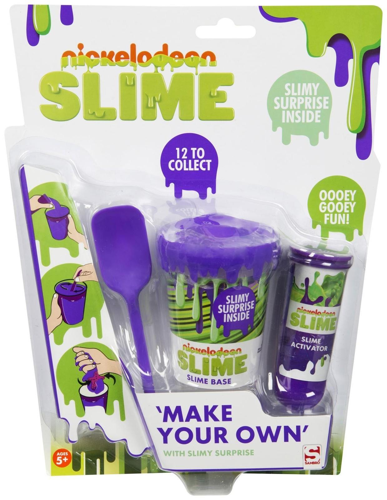 Nickelodeon: Make Your Own Slime Set - Purple image