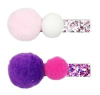 Pink Poppy: Glamour Pom-Pom - Hair Clip (Assorted Designs)