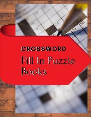Crossword Fill In Puzzle Books by Samurel M Kardem image
