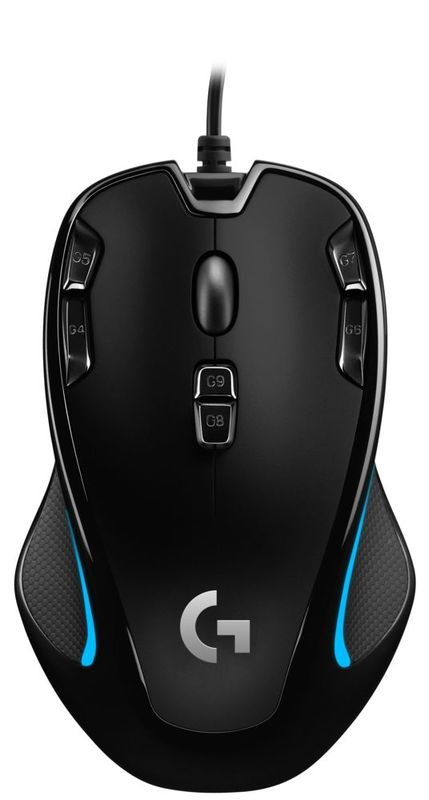 Logitech G300S Optical Ambidextrous Gaming Mouse for PC