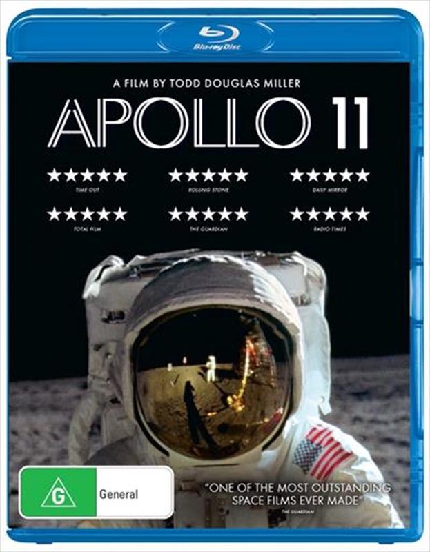Apollo 11 on Blu-ray
