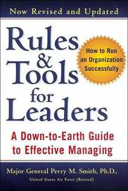 Rules and Tools for Leaders by Perry M. Smith image