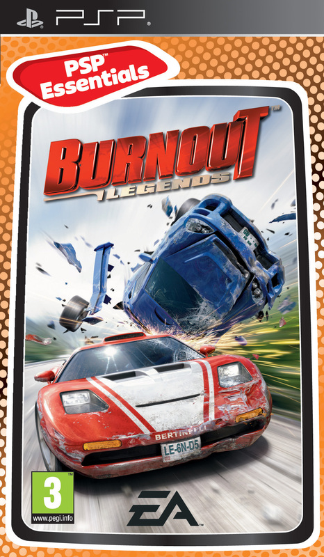 Burnout: Legends for PSP