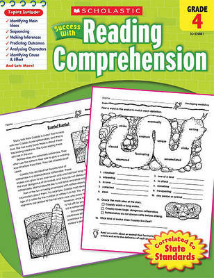 Scholastic Success with Reading Comprehension, Grade 4 by Kathy Zaun