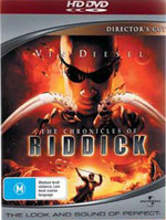 The Chronicles Of Riddick on HD DVD