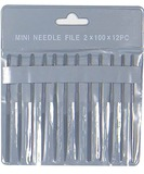 Excel Assorted Mini Needle Files In a Pouch (12pk)