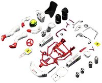 Fujimi: 1/20 Ayrton Senna Kart 1993 - Model Kit