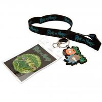 Rick & Morty - Lanyard & Keyring Set