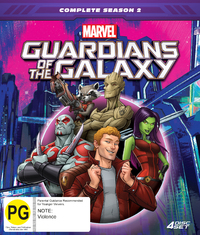 Guardians Of The Galaxy - Complete Season 2 (Collector's Edition) on DVD