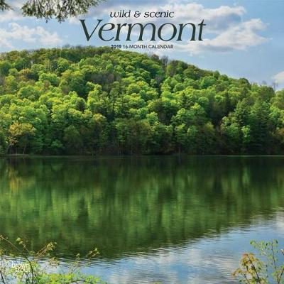 Vermont Wild & Scenic 2019 Square by Inc Browntrout Publishers