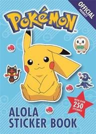 The Official Pokemon Alola Sticker Book by Pokemon