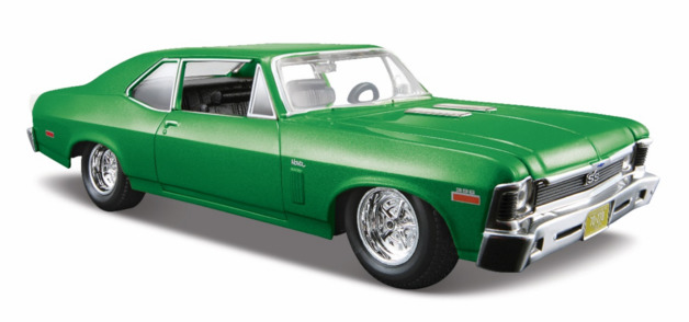 Maisto: 1:24 Die-Cast Vehicle - 1970 Chevrolet Nova SS Me (Green)