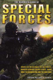 The Mammoth Book of SAS and Special Forces image