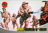 Airfix WWII British 8th Army 1:72 Scale
