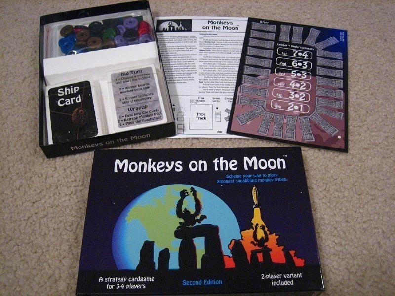 Monkeys on the Moon image